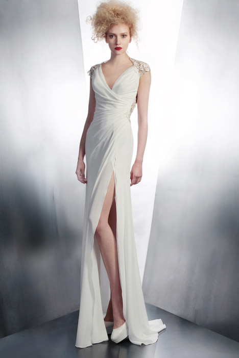 4181 gown from the 2015 Gemy Maalouf collection, as seen on Bride.Canada