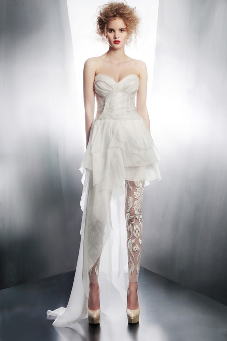 4183T + 3972L gown from the 2015 Gemy Maalouf collection, as seen on Bride.Canada