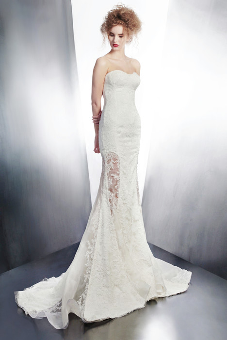 4187 gown from the 2015 Gemy Maalouf collection, as seen on Bride.Canada