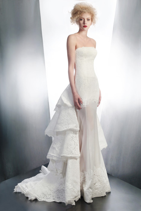 4193 gown from the 2015 Gemy Maalouf collection, as seen on Bride.Canada
