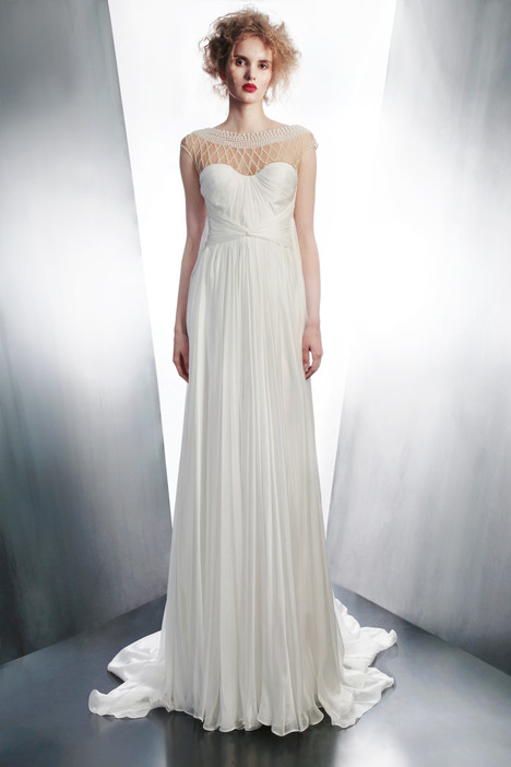 4194 gown from the 2015 Gemy Maalouf collection, as seen on Bride.Canada