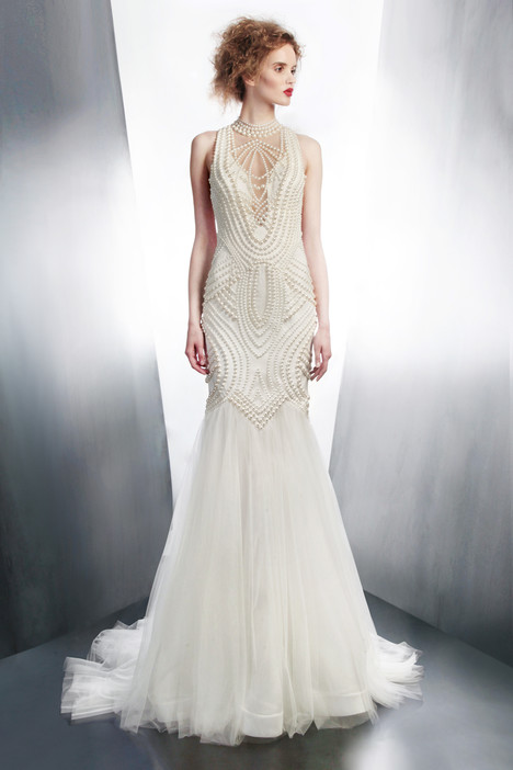 4195 gown from the 2015 Gemy Maalouf collection, as seen on Bride.Canada