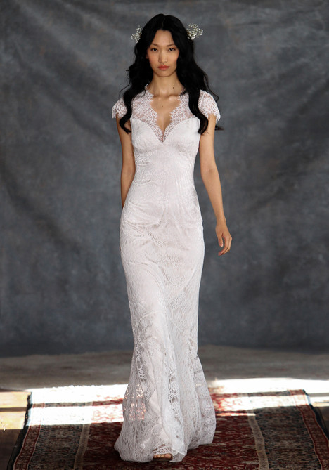 Estelle gown from the 2015 Claire Pettibone: Couture collection, as seen on Bride.Canada