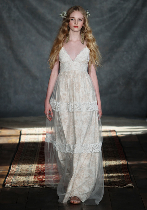 Thyme gown from the 2015 Claire Pettibone: Couture collection, as seen on Bride.Canada
