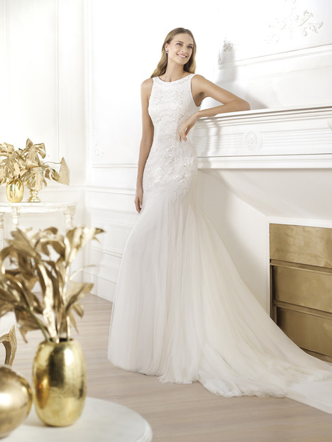 Lacasta gown from the 2014 Pronovias collection, as seen on Bride.Canada