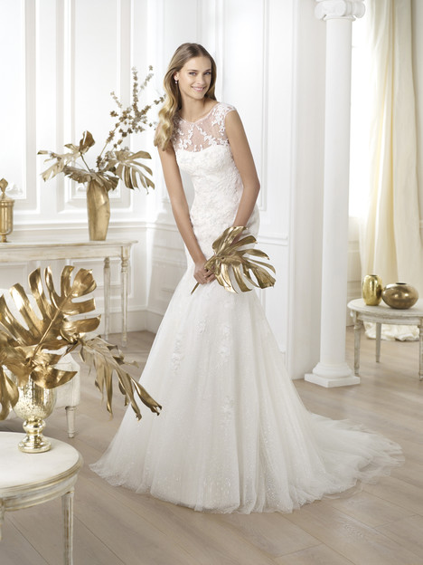Lanice gown from the 2014 Pronovias collection, as seen on Bride.Canada