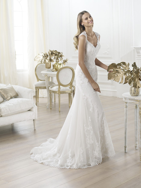 Laren gown from the 2014 Pronovias collection, as seen on Bride.Canada