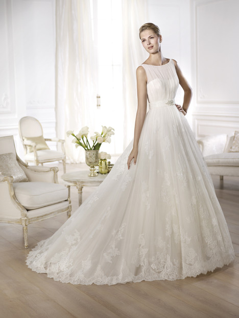Oceania gown from the 2014 Pronovias collection, as seen on Bride.Canada