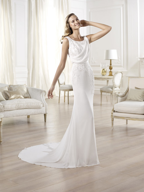 Olivei gown from the 2014 Pronovias collection, as seen on Bride.Canada