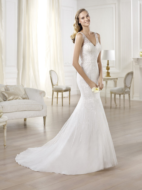 Olsen gown from the 2014 Pronovias collection, as seen on Bride.Canada