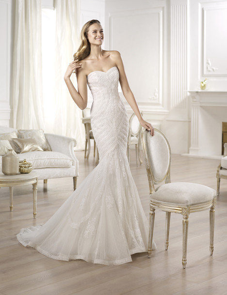 Ombera gown from the 2014 Pronovias collection, as seen on Bride.Canada