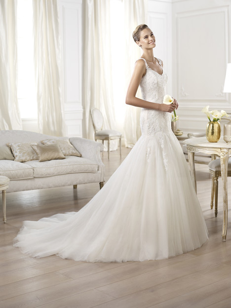 Oncala gown from the 2014 Pronovias collection, as seen on Bride.Canada