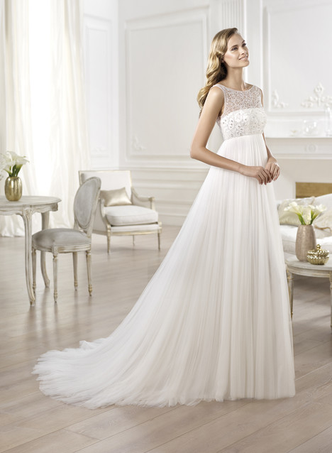 Ores gown from the 2014 Pronovias collection, as seen on Bride.Canada