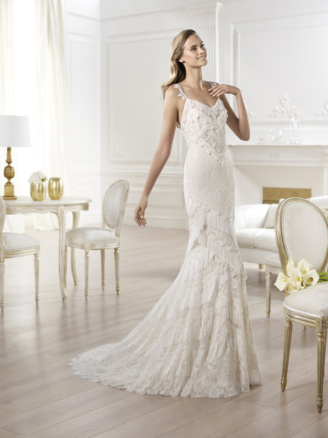 Yadarola gown from the 2014 Pronovias collection, as seen on Bride.Canada