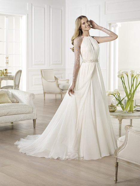 Yajaida gown from the 2014 Pronovias collection, as seen on Bride.Canada