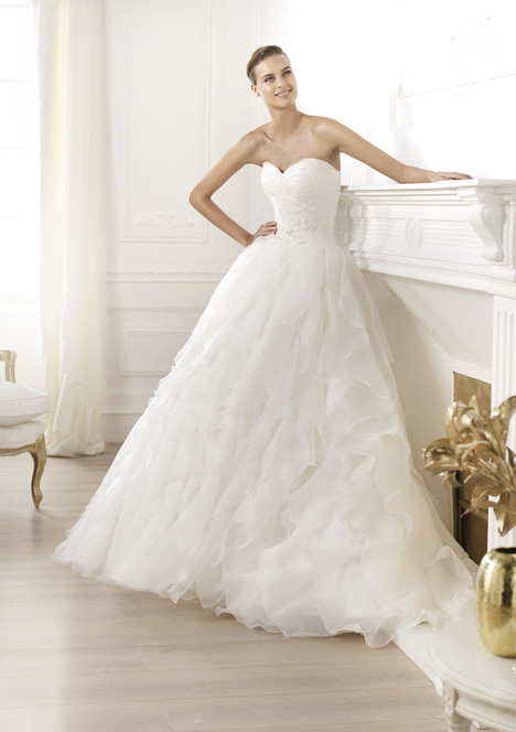 Lastel gown from the 2014 Pronovias collection, as seen on Bride.Canada