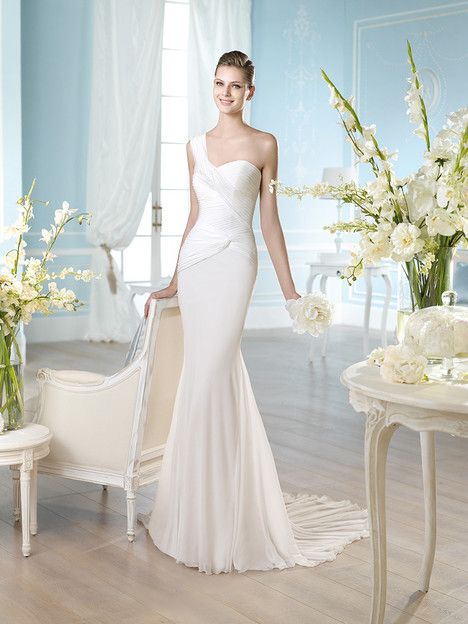 Habidd gown from the 2014 St. Patrick collection, as seen on Bride.Canada