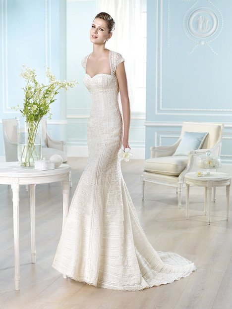 Hafida gown from the 2014 St. Patrick collection, as seen on Bride.Canada