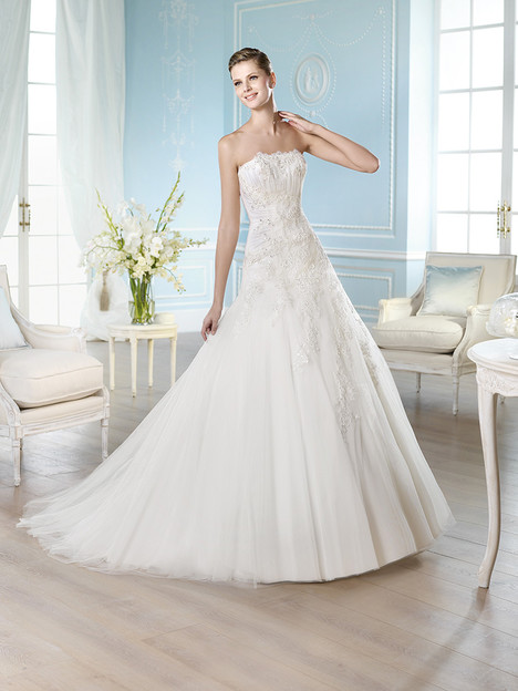 Halfon gown from the 2014 St. Patrick collection, as seen on Bride.Canada