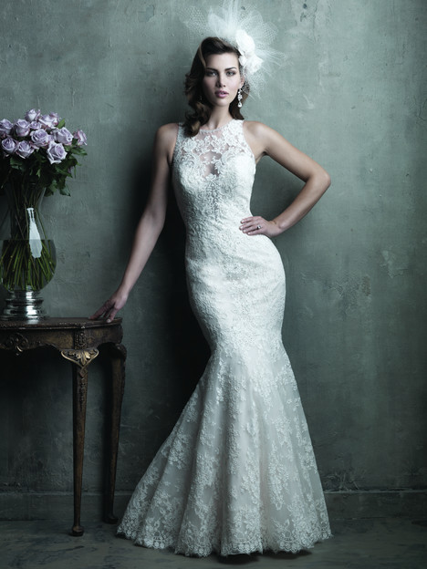 gown from the 2014 Allure Couture collection, as seen on Bride.Canada