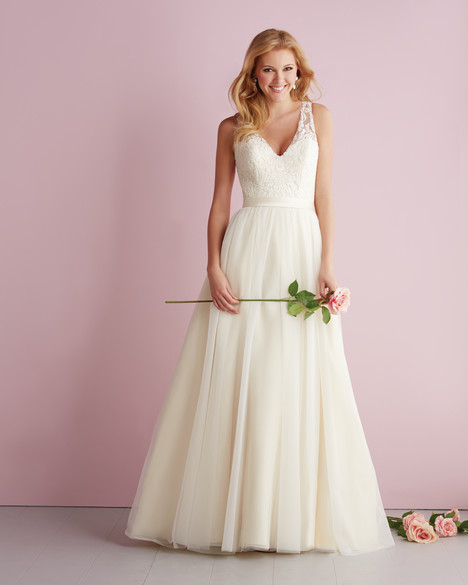 gown from the 2014 Allure Romance collection, as seen on Bride.Canada