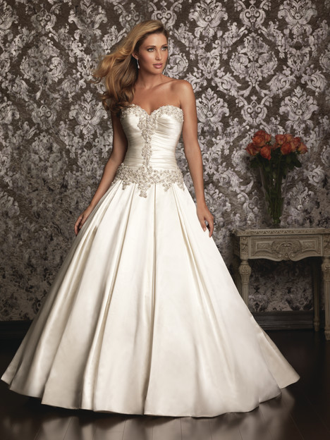 gown from the 2013 Allure Bridals collection, as seen on Bride.Canada