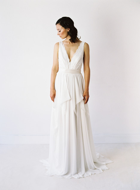 Michelle gown from the 2014 Truvelle collection, as seen on Bride.Canada