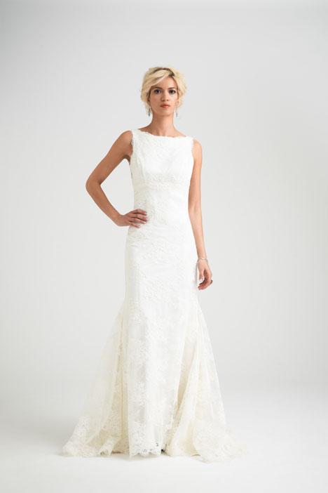 Marsielle gown from the 2015 Caroline Castigliano collection, as seen on Bride.Canada
