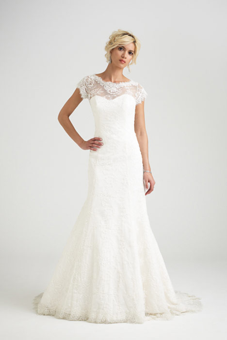 Wild at Heart gown from the 2015 Caroline Castigliano collection, as seen on Bride.Canada