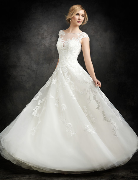 BE250 gown from the 2015 Ella Rosa collection, as seen on Bride.Canada