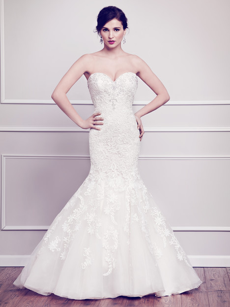 1564 gown from the 2015 Kenneth Winston collection, as seen on Bride.Canada