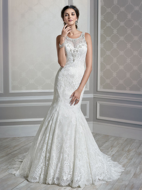 1587 gown from the 2015 Kenneth Winston collection, as seen on Bride.Canada