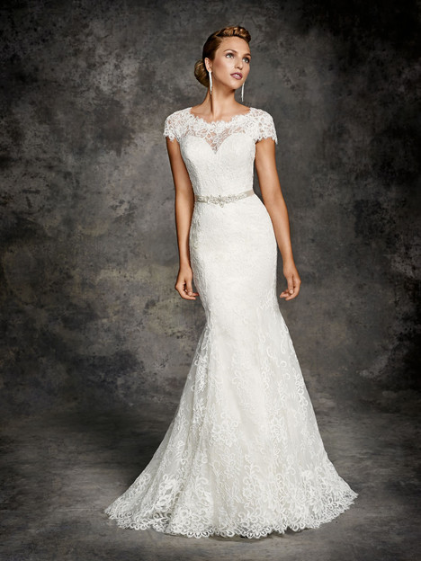 BE261 gown from the 2015 Ella Rosa collection, as seen on Bride.Canada