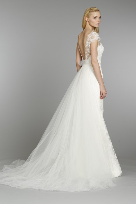 gown from the 2013 Tara Keely by Lazaro collection, as seen on Bride.Canada