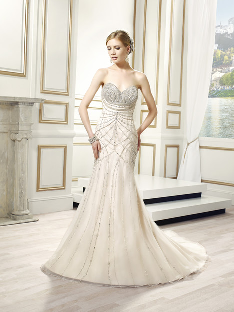 Lumina gown from the 2015 Val Stefani collection, as seen on Bride.Canada