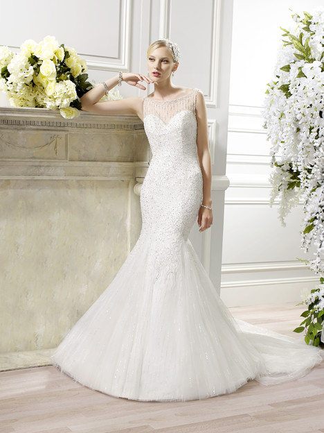 H1276 gown from the 2015 Moonlight : Couture collection, as seen on Bride.Canada