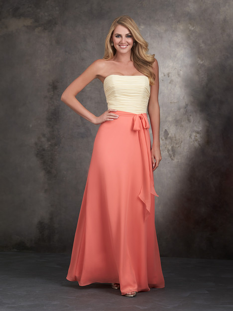 1403 gown from the 2015 Allure Bridesmaids collection, as seen on Bride.Canada
