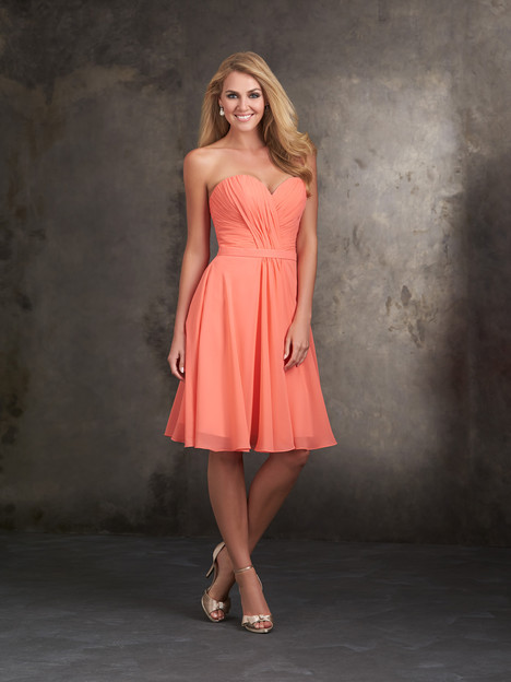 1414 gown from the 2015 Allure Bridesmaids collection, as seen on Bride.Canada