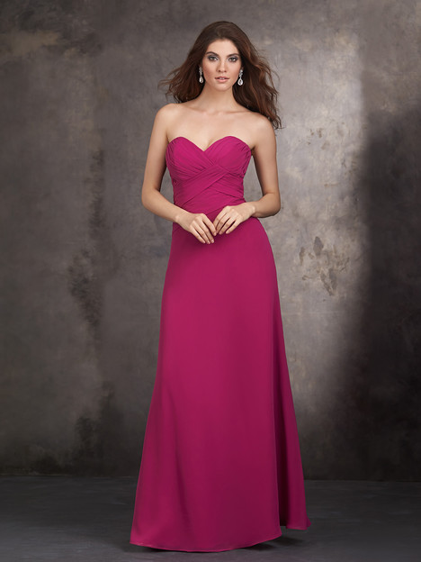 1429 gown from the 2015 Allure Bridesmaids collection, as seen on Bride.Canada