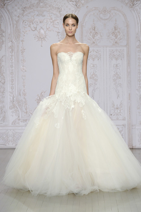 Anouk gown from the 2015 Monique Lhuillier collection, as seen on Bride.Canada