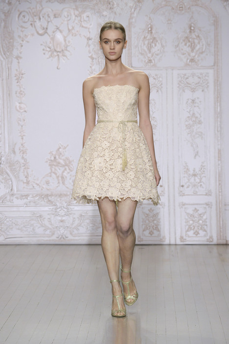 Bellini gown from the 2015 Monique Lhuillier collection, as seen on Bride.Canada