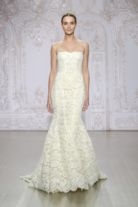 Liza gown from the 2015 Monique Lhuillier collection, as seen on Bride.Canada