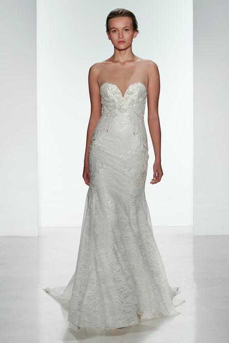 Nica gown from the 2015 Kenneth Pool collection, as seen on Bride.Canada