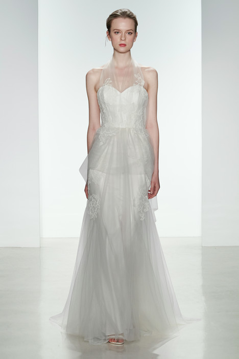 Francis gown from the 2015 Christos collection, as seen on Bride.Canada