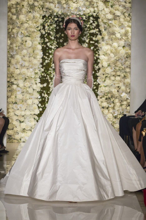 I'm Gorgeous gown from the 2015 Reem Acra collection, as seen on Bride.Canada