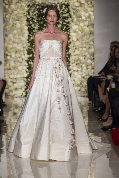 I'm Divine gown from the 2015 Reem Acra collection, as seen on Bride.Canada