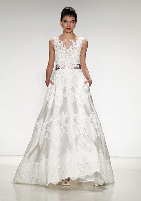Giverny gown from the 2015 Anne Barge collection, as seen on Bride ...