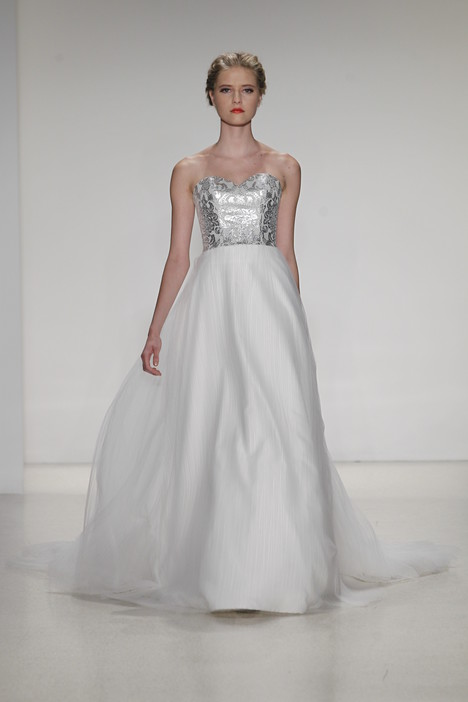 Perla gown from the 2015 Kelly Faetanini collection, as seen on Bride.Canada