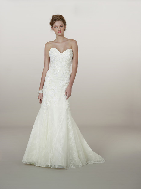 5868 gown from the 2014 Liancarlo collection, as seen on Bride.Canada