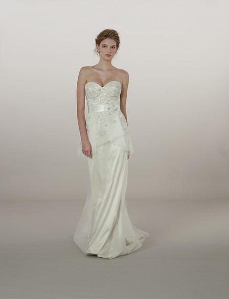 5876 gown from the 2014 Liancarlo collection, as seen on Bride.Canada